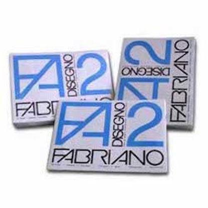 Immagine di Album Fabriano F2 liscio riquadrato 24x33 20fg 110gr angoli