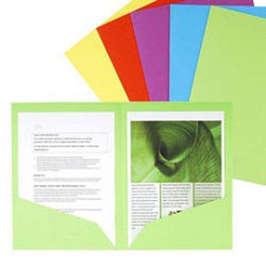 Immagine di Cartellina doppia tasca verde