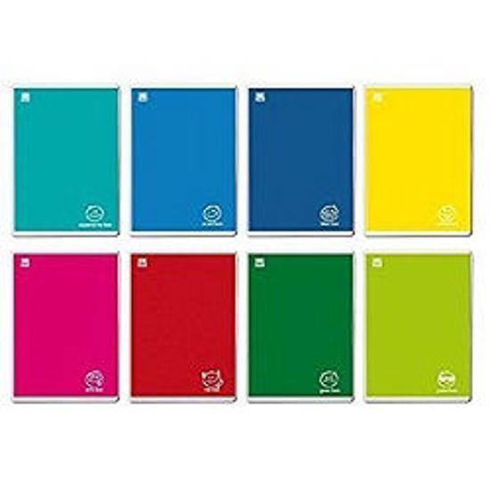 Immagine di Quaderno A4 Colorface a quadretti 10mm - con margine 100gr