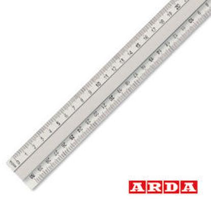 Immagine di Triplodecimetro alluminio c/impugnatura Arda