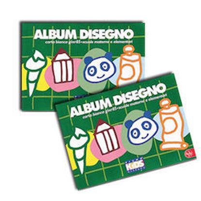 Immagine di Album Pign Kids 17x24 80gr a quadretti