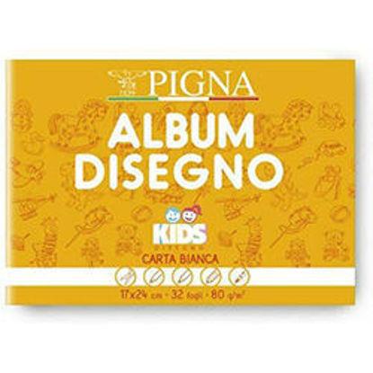 Immagine di Album Pign Kids 17x24 80gr bianco